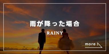 雨が降った場合