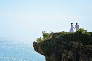 Barangan beach cliff