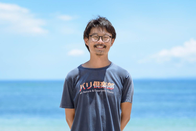 バリ島の日本人 佐助さん