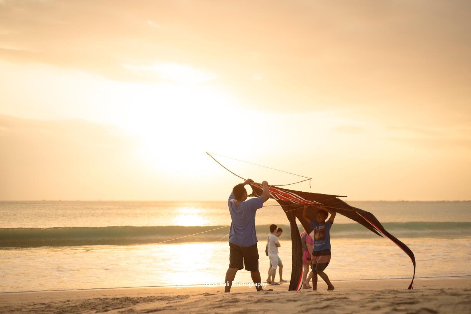 バリ島の凧