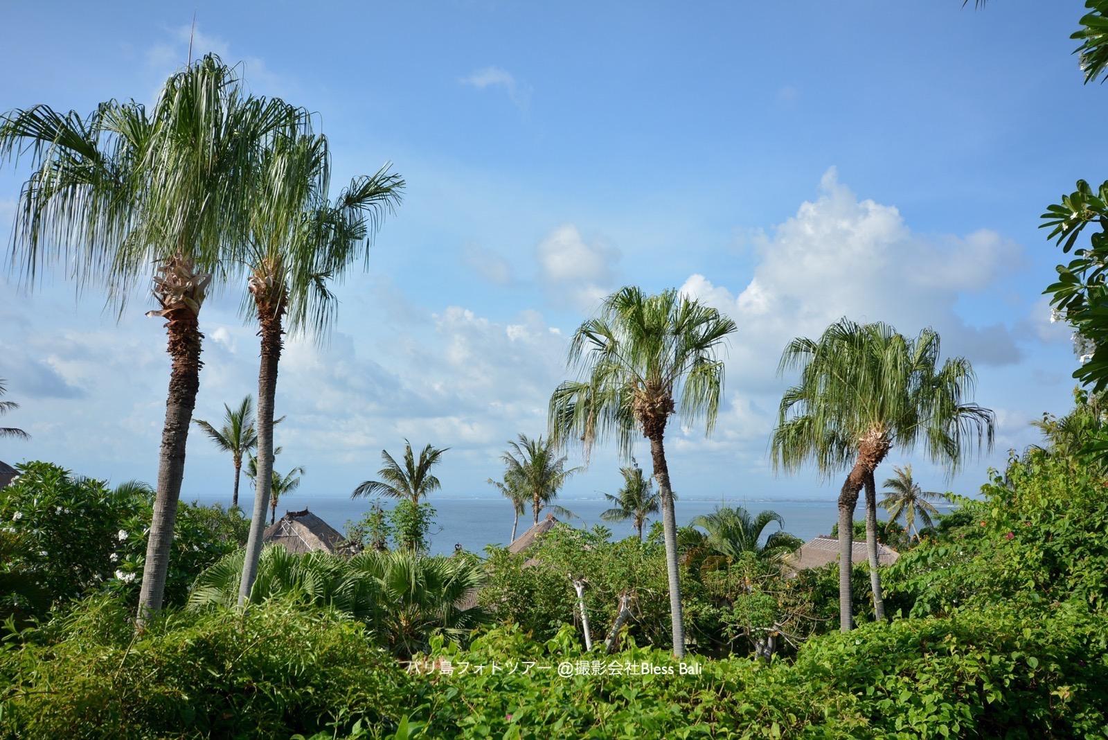 バリ島アヤナヴィラからの眺め