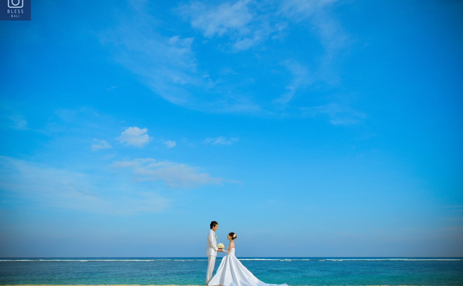 【お客様レポ#218】ヌサドゥアビーチ&ジンバランビーチで撮影!K&S様のウェディングフォト