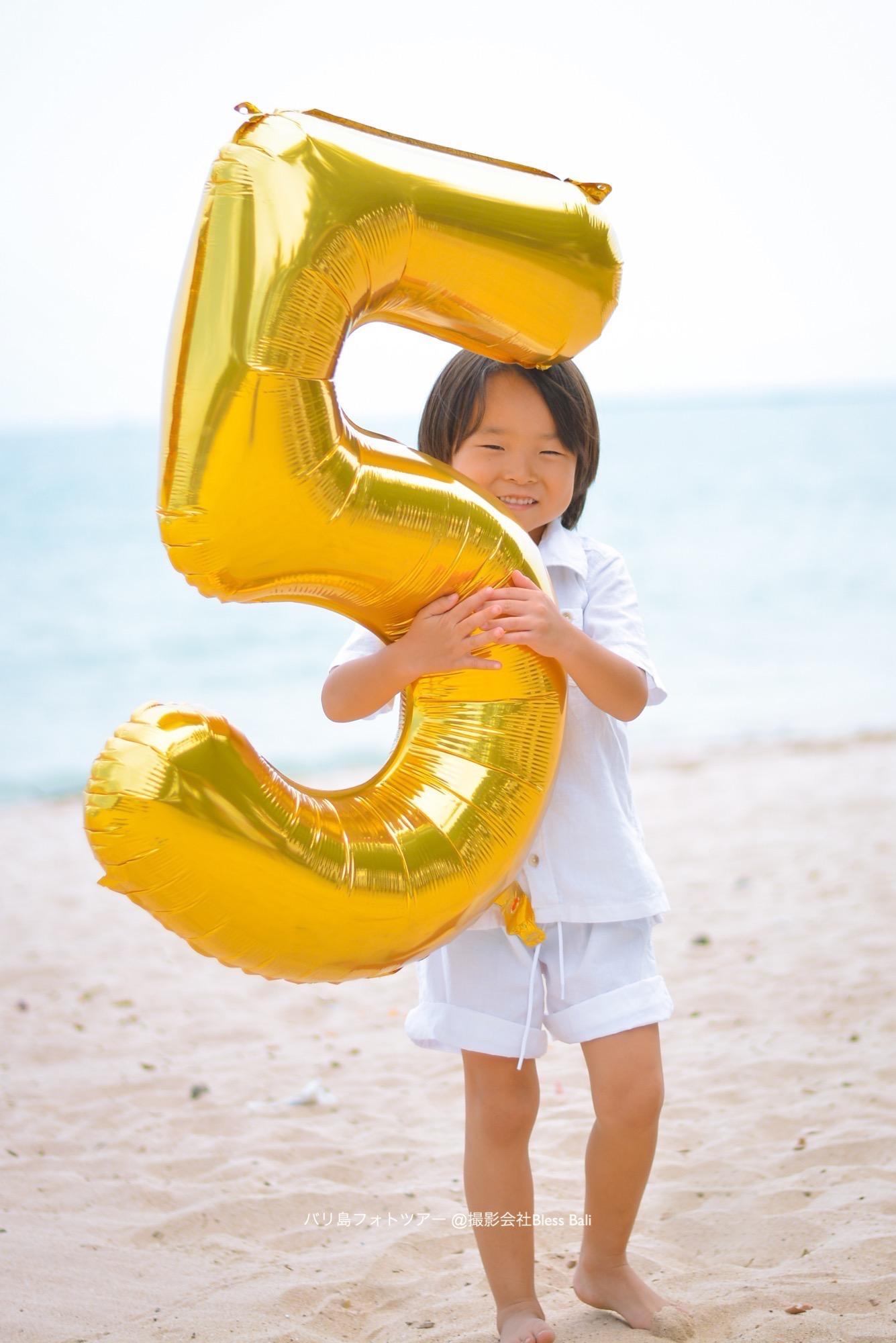 お子様の誕生日記念フォト