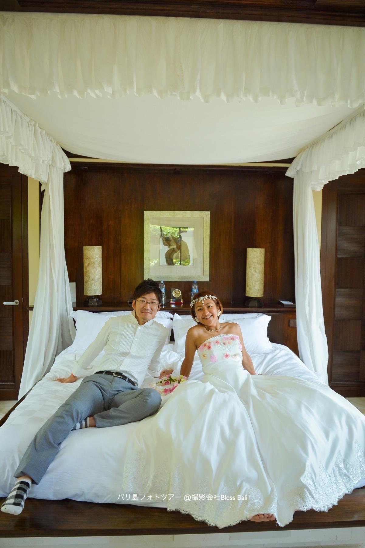 アヤナヴィラのベッドルーム