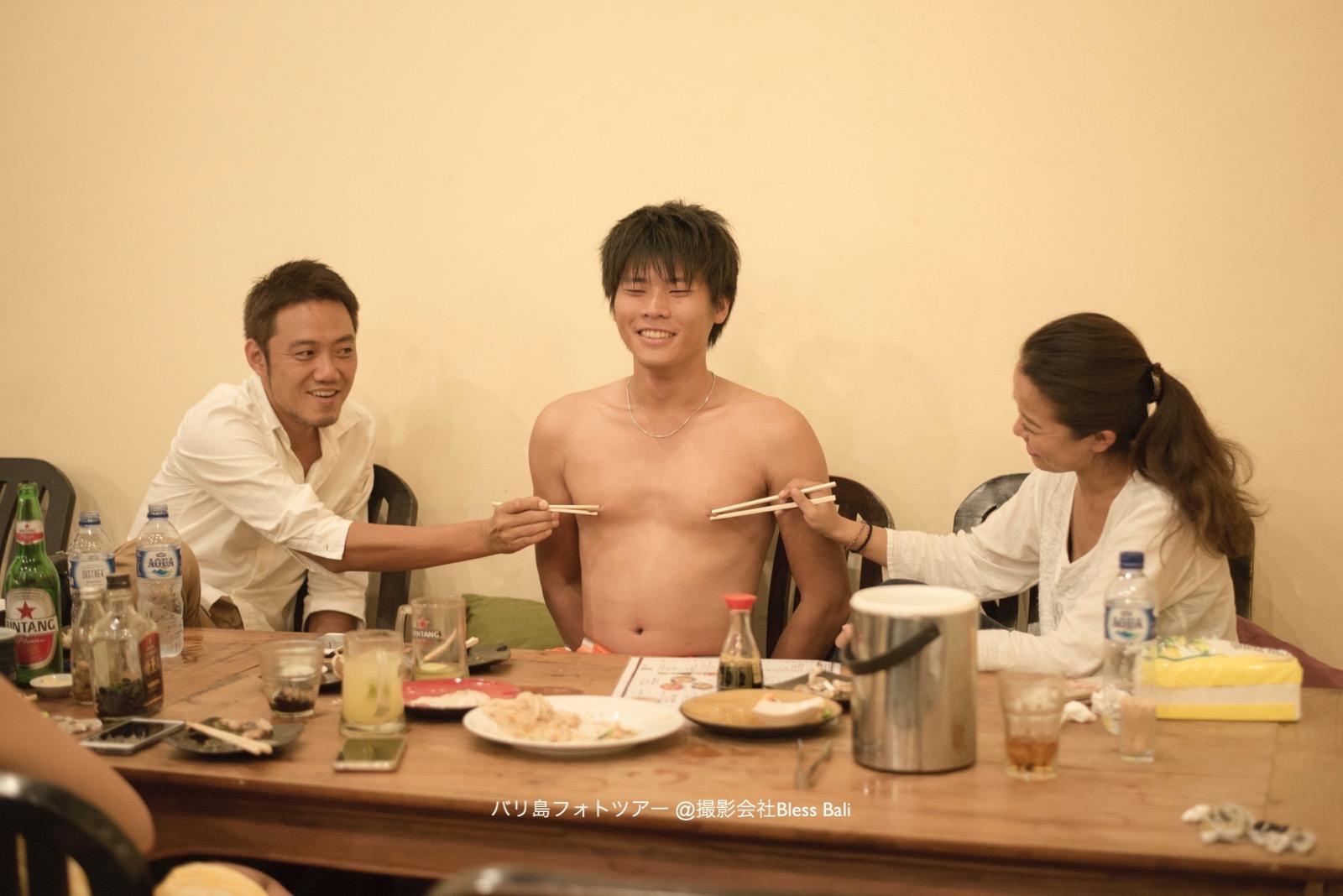 橋本さん、ステフェン、あさみちゃん