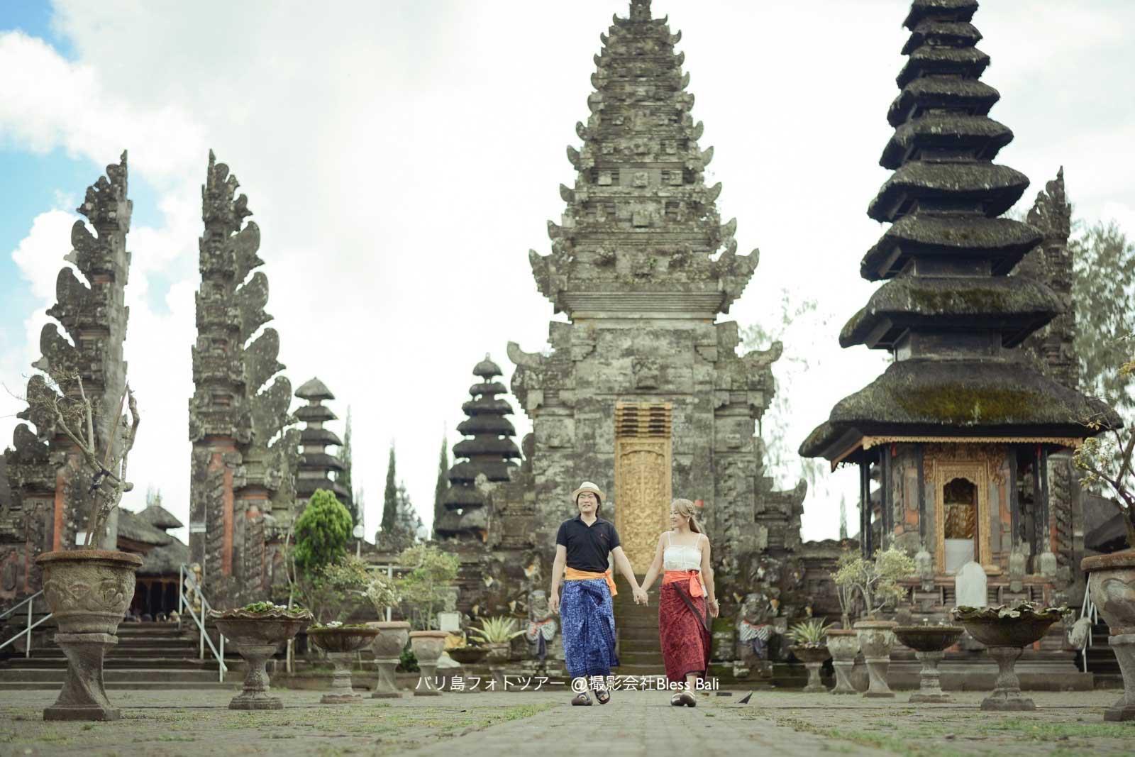 バリ島バトゥール寺院