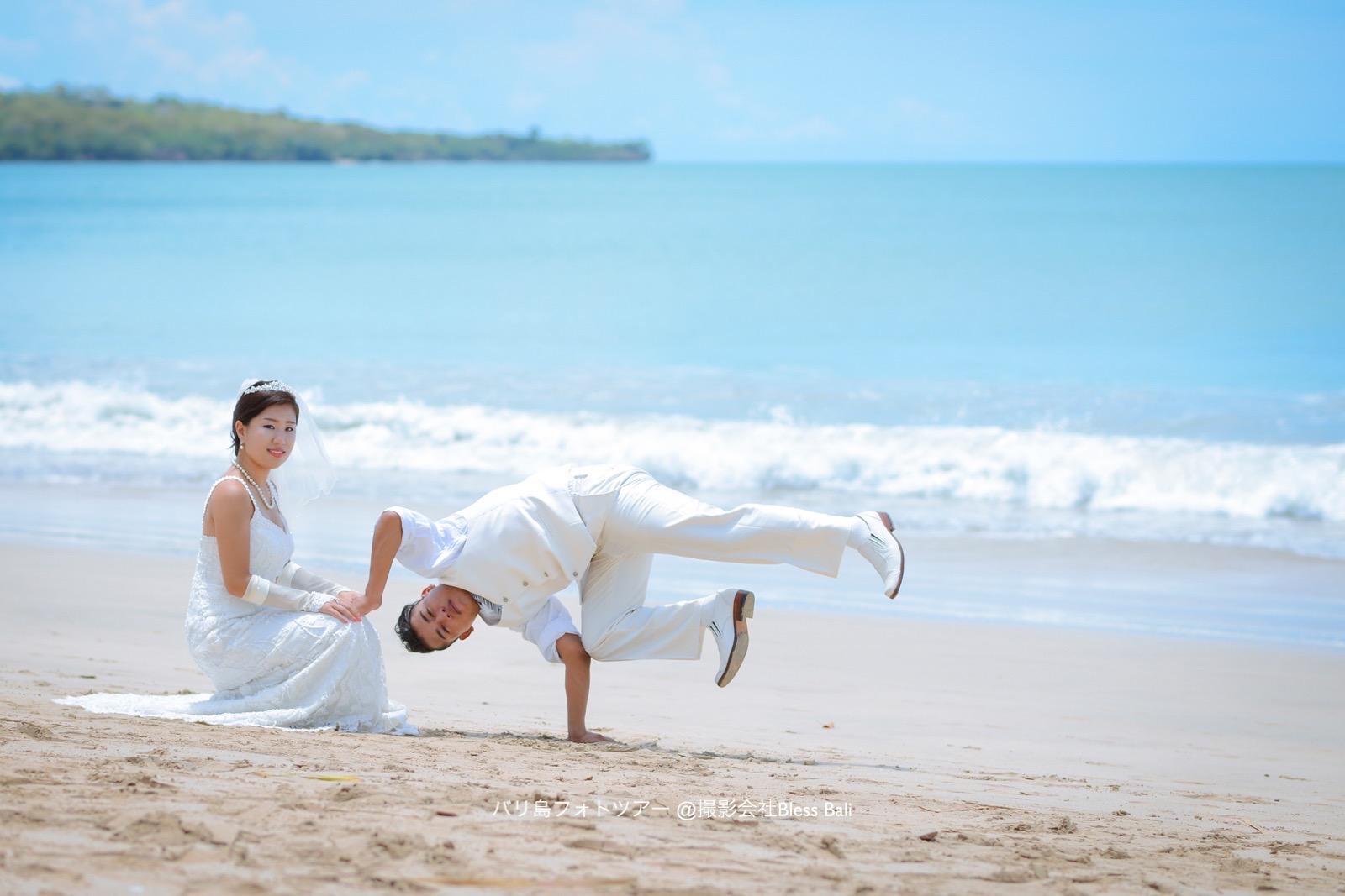 バリ島ブレイクダンスを取り入れたフォトツアー