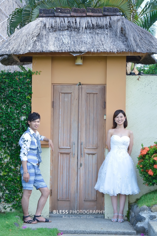 バリ島ホテルでフォト婚