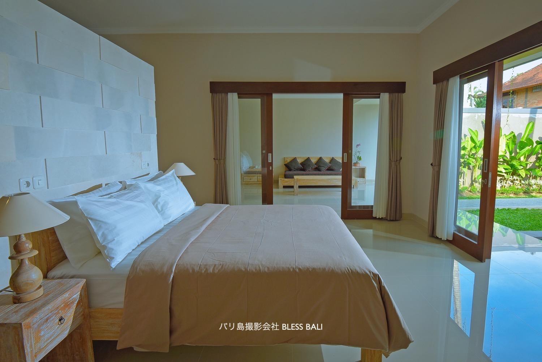 Villa Padma ベッドルーム
