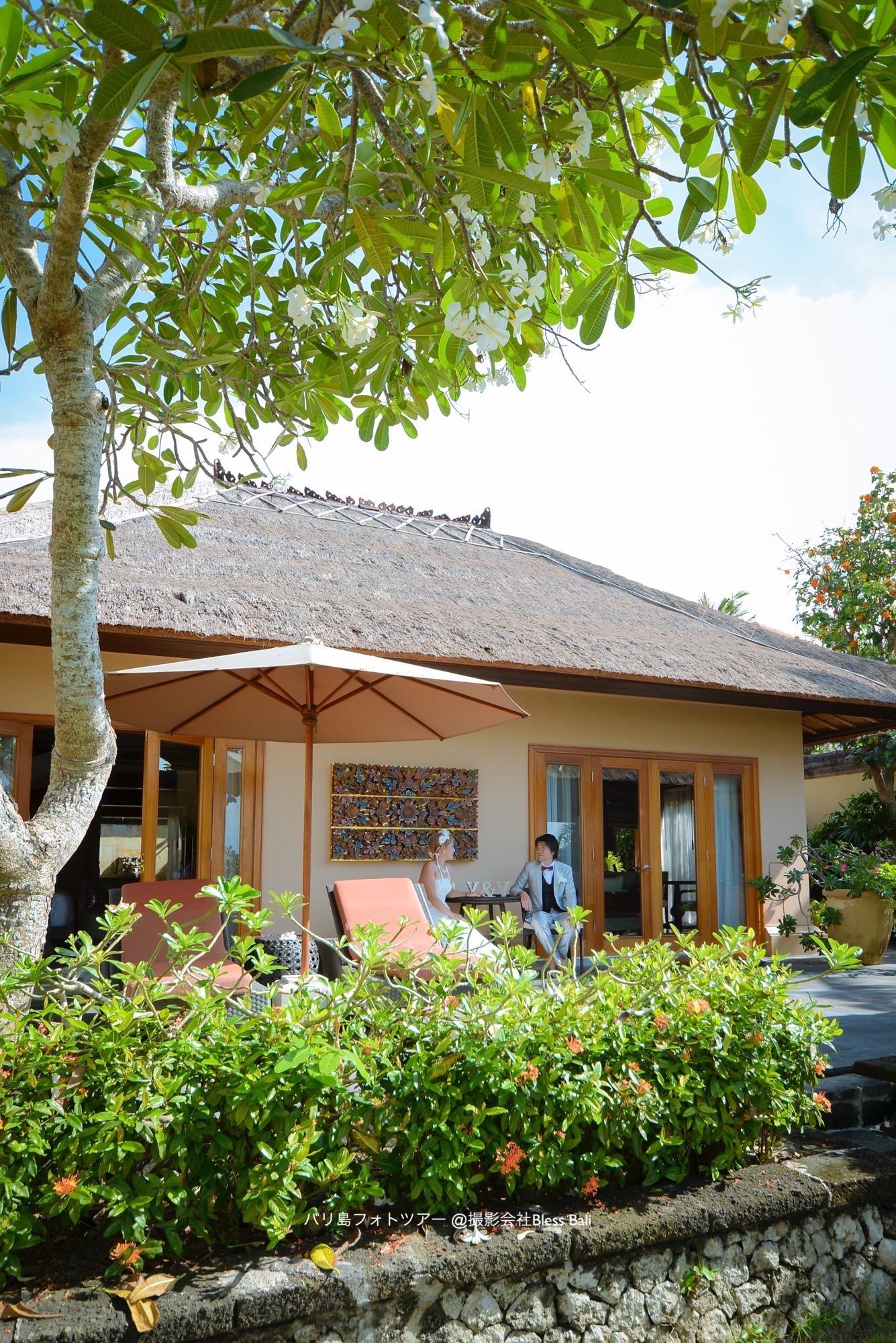 ハネムーナーに人気のアヤナヴィラにご滞在