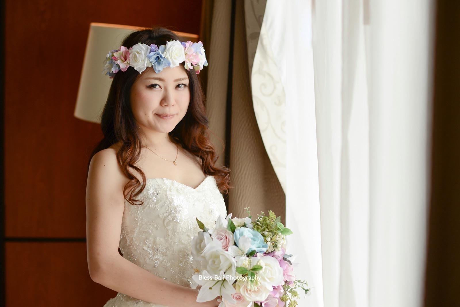 花嫁様のアップショット