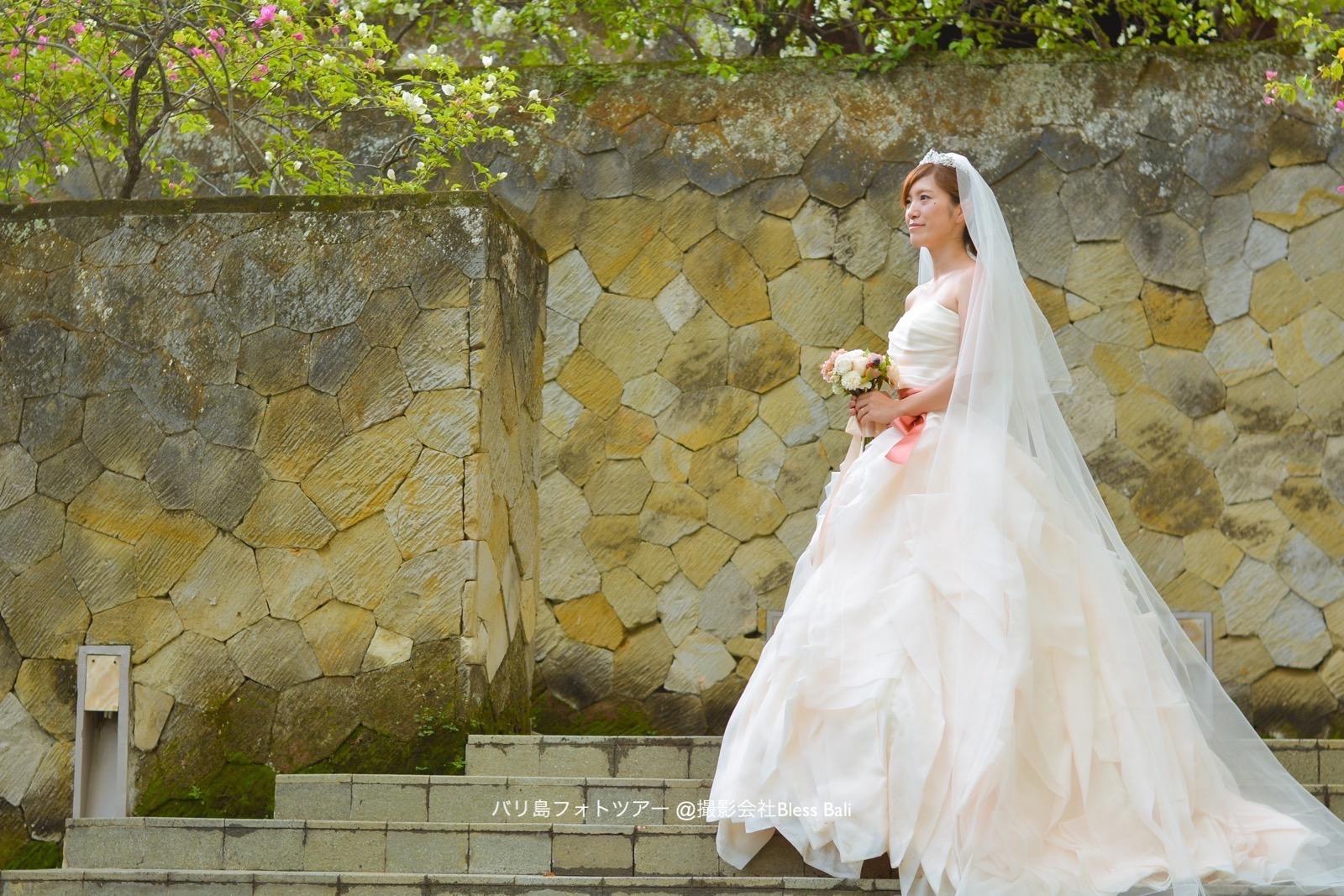 花嫁様のソロカット