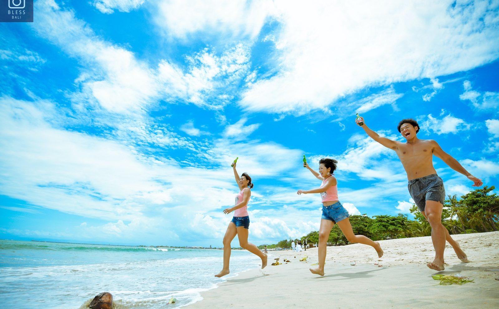【お客様レポ#200】バリ旅行の想い出をかねて、ビーチでプロフィール写真を撮影  Tomo様