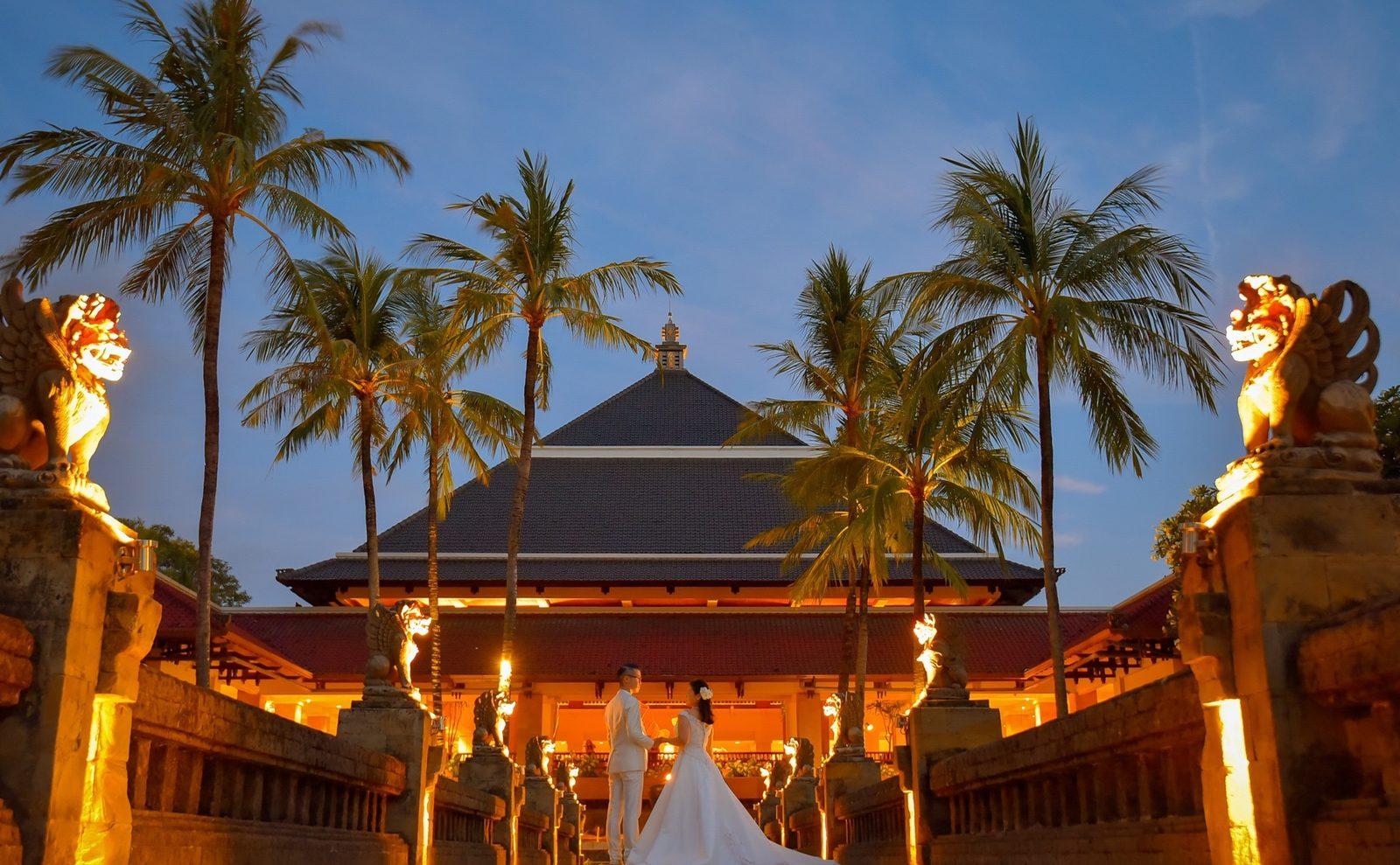 【お客様レポ#175】InterContinental Baliで優しい雰囲気で撮影 H&K様