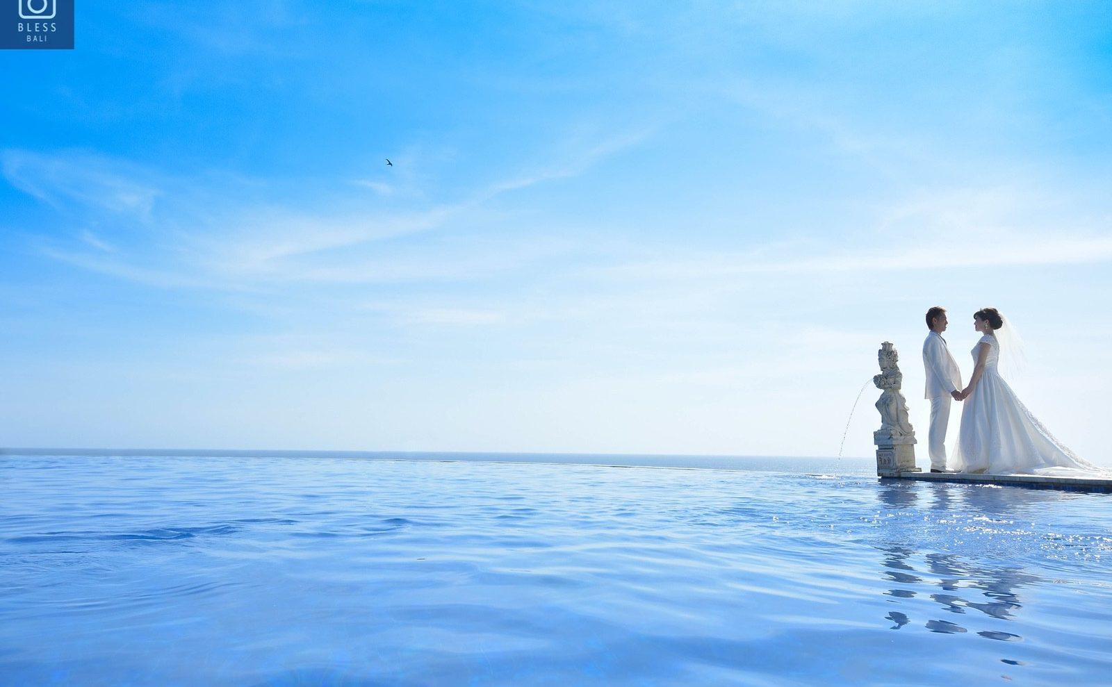 【お客様レポ#201】ビーチ・Blue Point Chapel・Ayana Villaの3ロケーションでたっぷり撮影♡ M&Y様