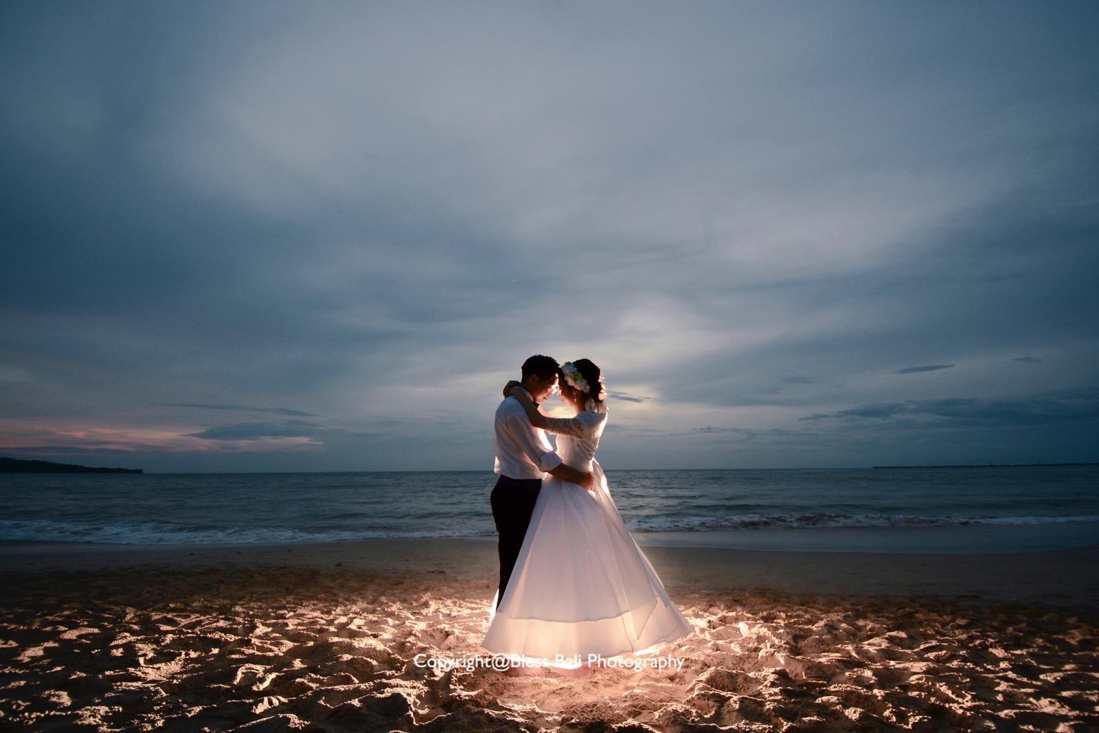 ロマンチックなナイトフォト