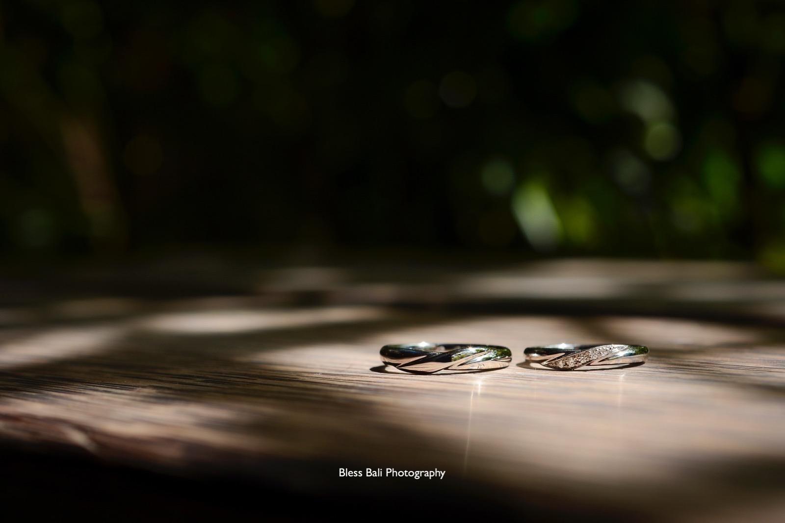 ランチタイムを使って指輪撮影