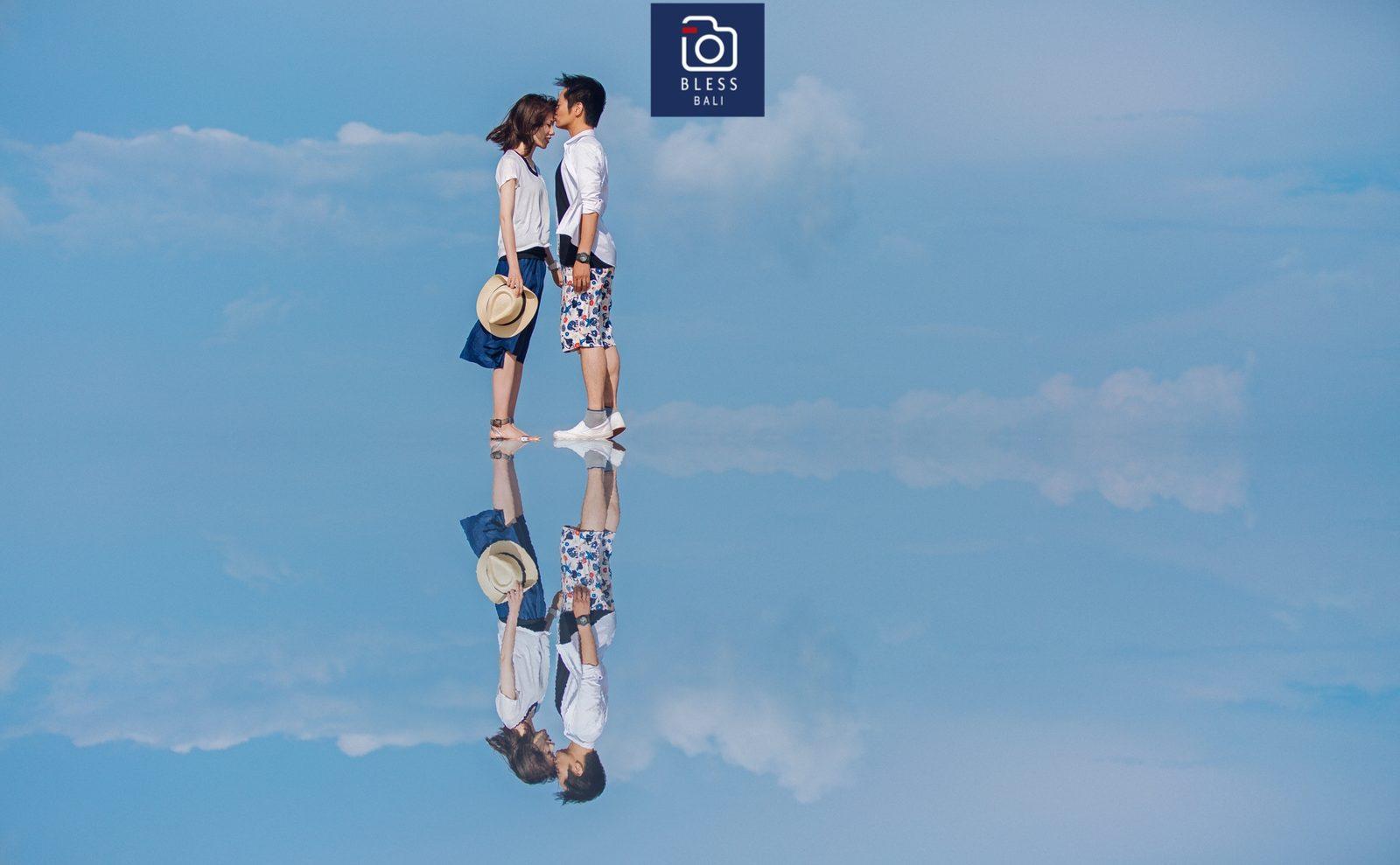 【お客様レポ#178】リゾートカジュアルで撮影。ウユニ塩湖風フォトも♡ H&J様