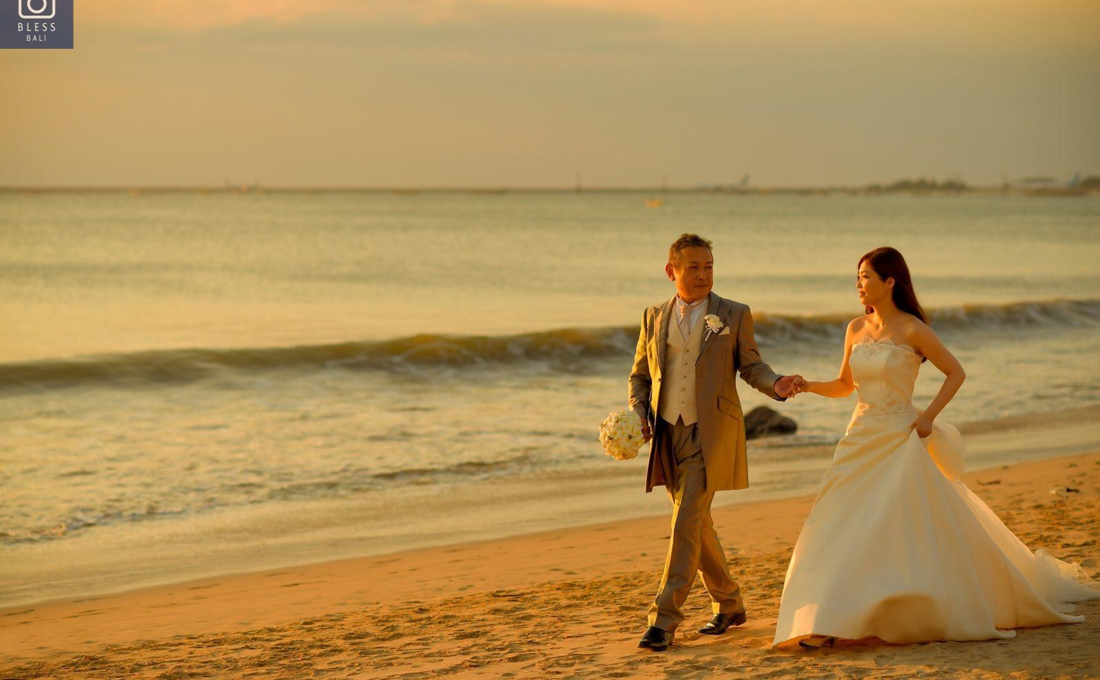 【お客様レポ#208】ヌサドゥア教会&ジンバランビーチで撮影 M&Y様