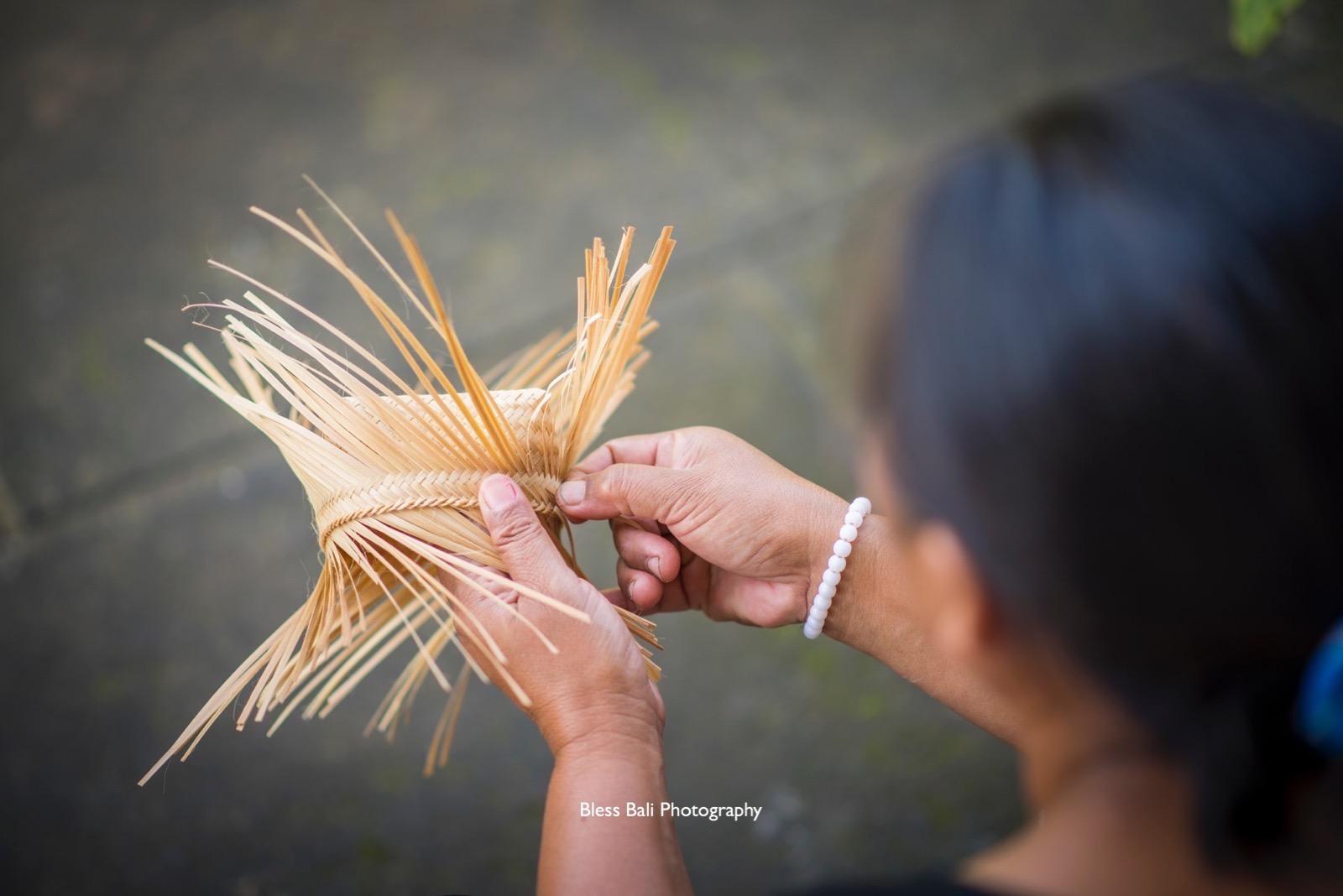 パンリプラン村の工芸品