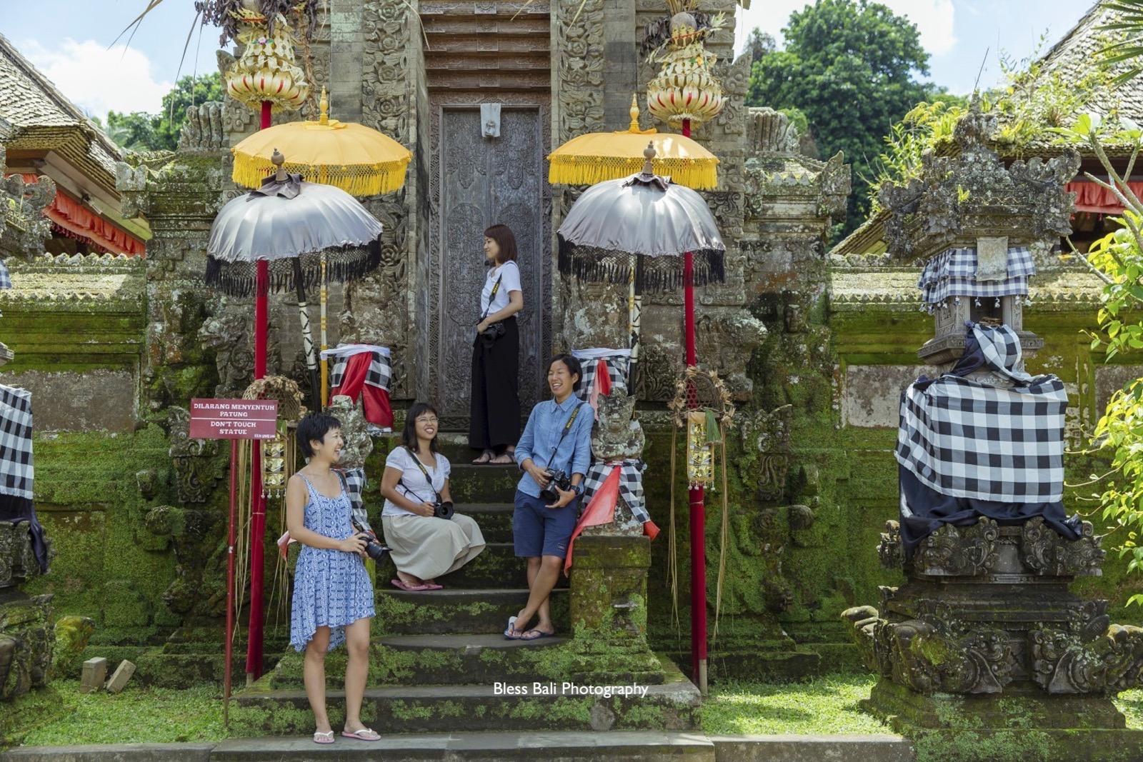 雰囲気のあるバリ寺院