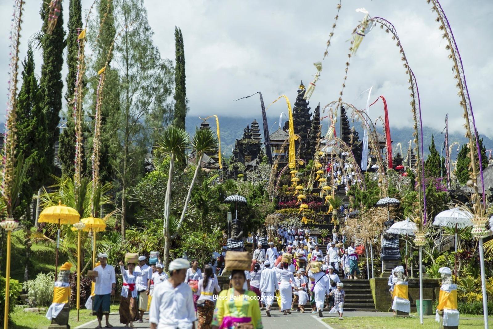 ガルンガンのブサキ寺院