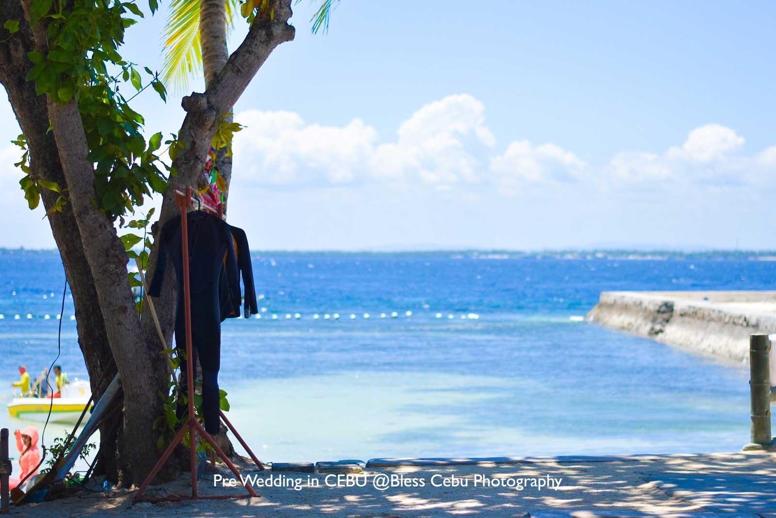 撮影ロケーションのひとつ、Tambii Beach