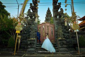 伝統的なバリ寺院
